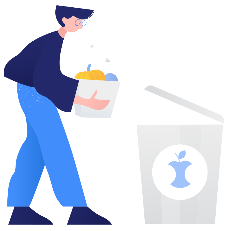 style Waste sorting- organic Vector images in PNG and SVG | Icons8 Illustrations