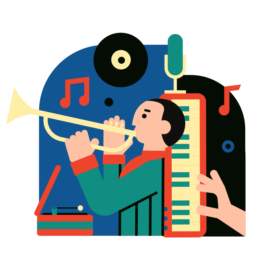Sound recording Clipart illustration in PNG, SVG
