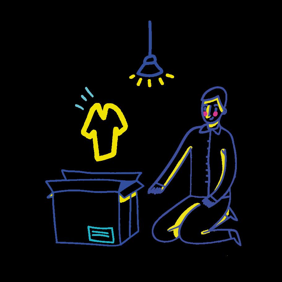 Delivery is arrived Clipart illustration in PNG, SVG