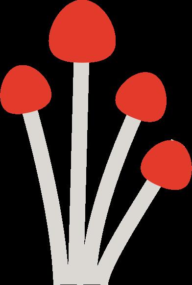 Иллюстрация гриб в стиле  в PNG и SVG | Icons8 Иллюстрации