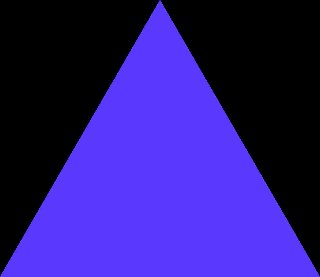 Ilustración de clipart de triangle color en PNG, SVG