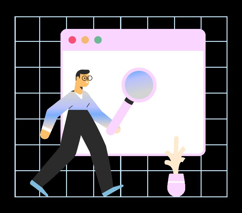 Vektorgrafik im  Stil Web-suche als PNG und SVG | Icons8 Grafiken