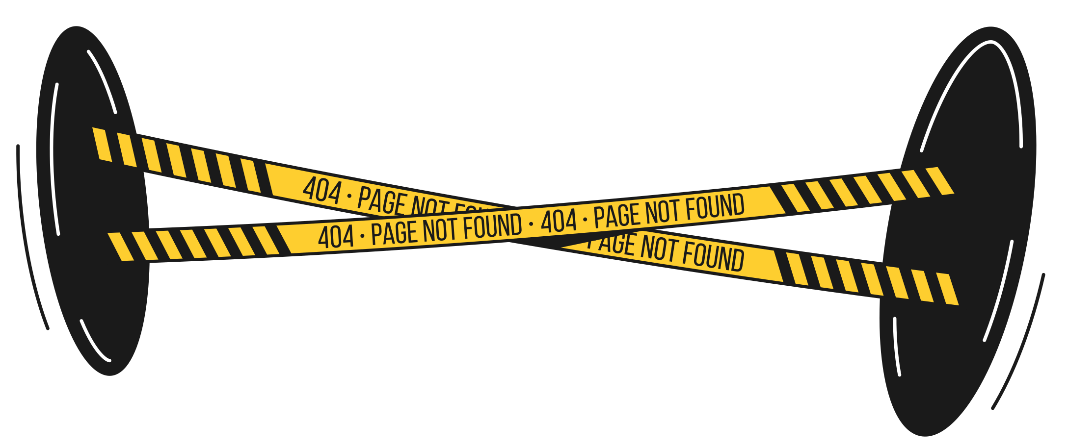 page not found Clipart illustration in PNG, SVG