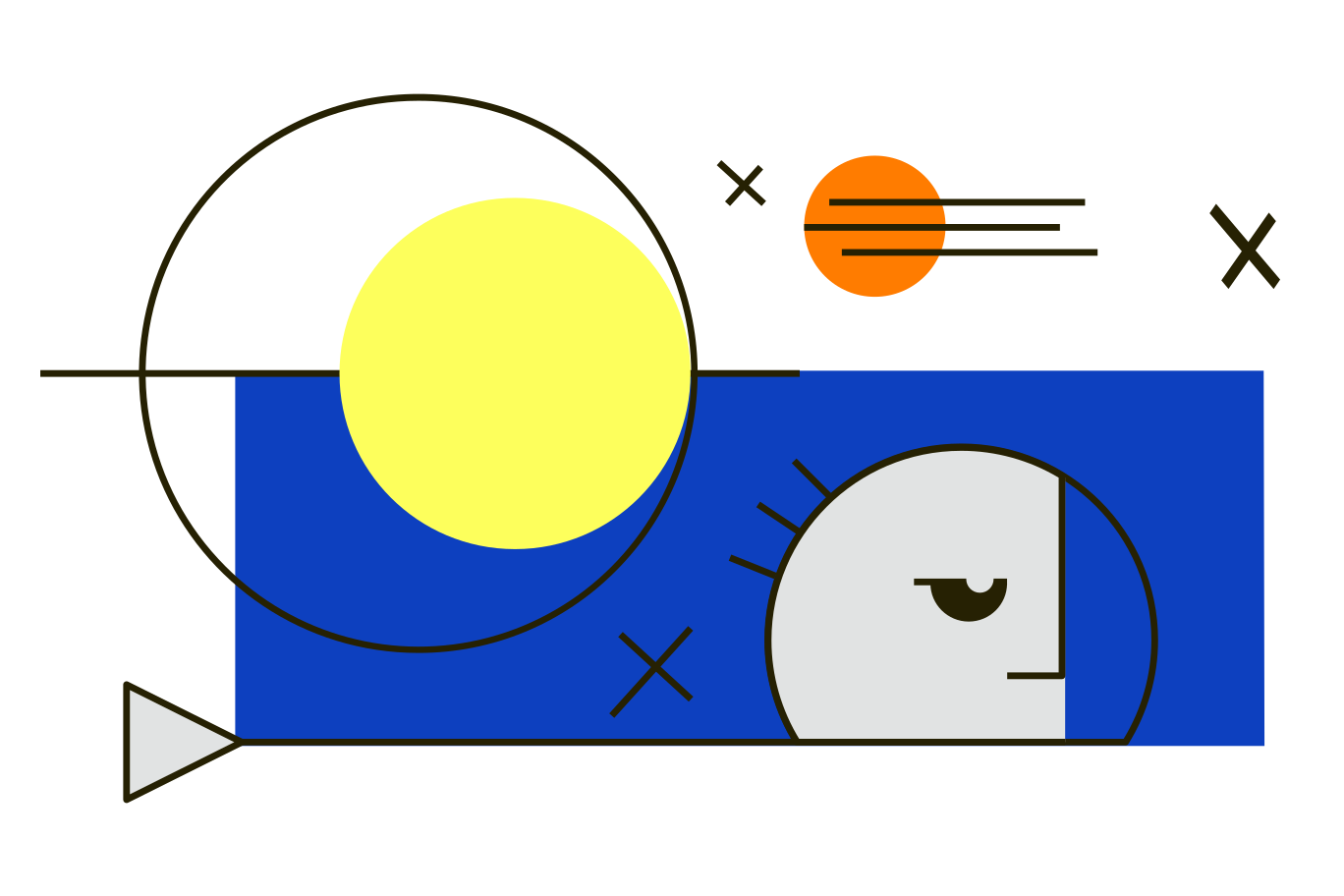Space travel Clipart illustration in PNG, SVG