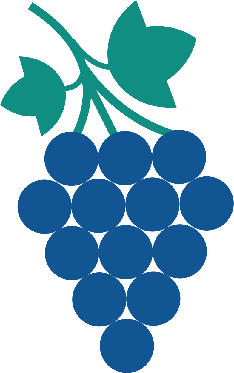 grapes Clipart illustration in PNG, SVG