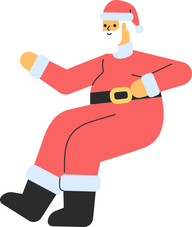 style santa sitting images in PNG and SVG   Icons8 Illustrations
