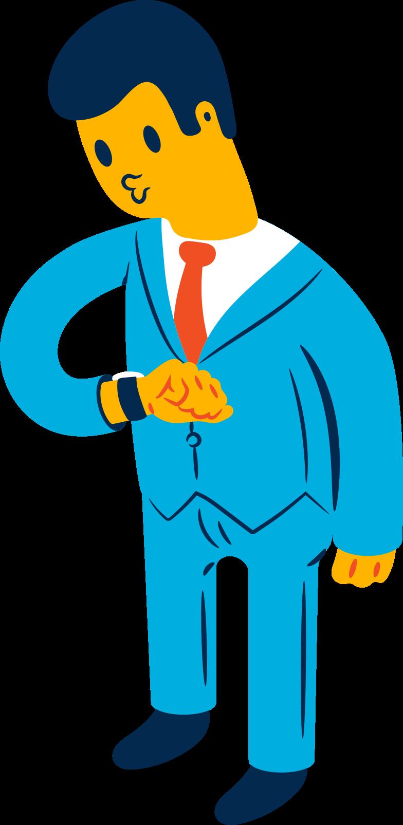 businessman Clipart illustration in PNG, SVG