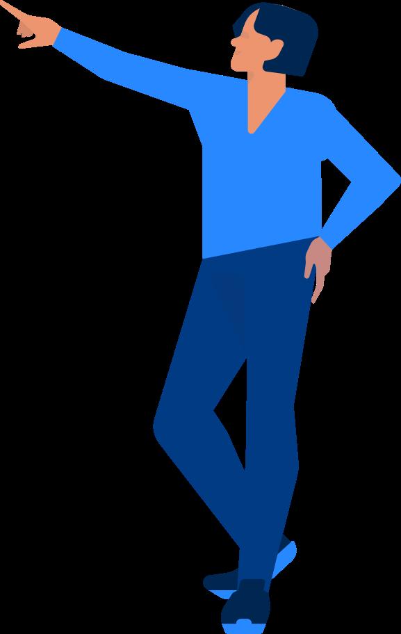 Style  homme de bureau montrant Images vectorielles en PNG et SVG | Icons8 Illustrations