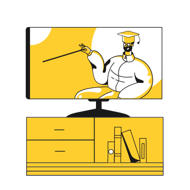 style online teacher images in PNG and SVG | Icons8 Illustrations