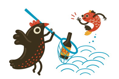 style Cleaning the sea images in PNG and SVG | Icons8 Illustrations