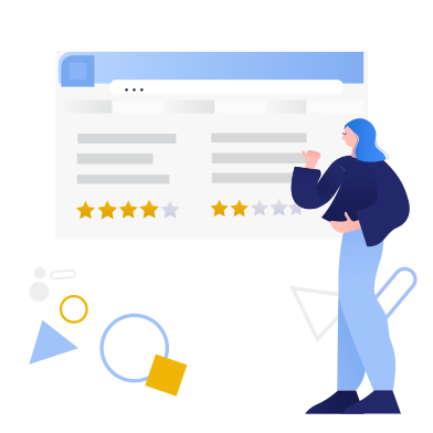 style Reviews images in PNG and SVG | Icons8 Illustrations