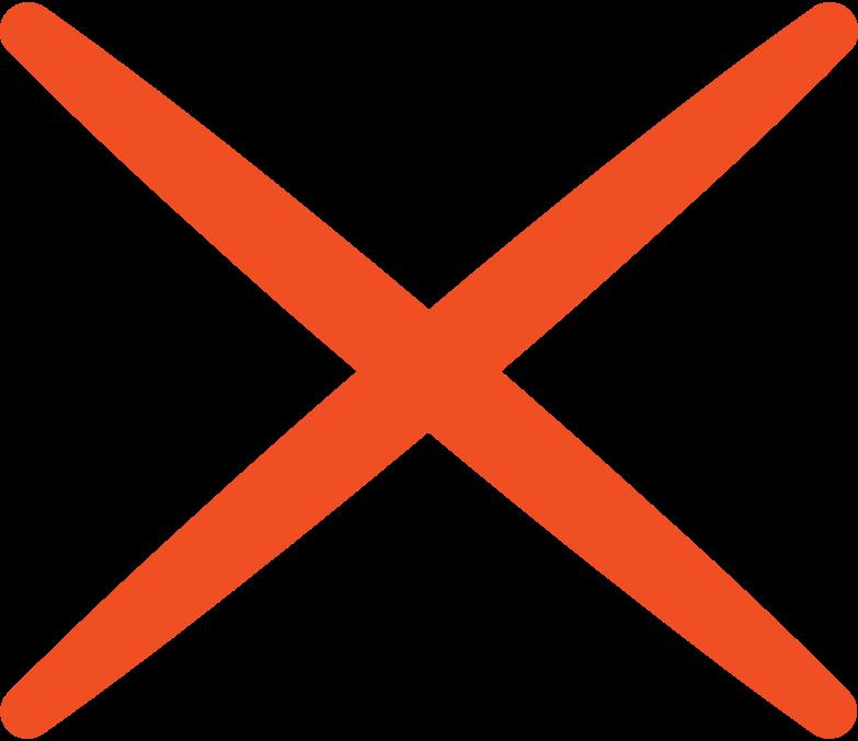 Illustration clipart cross aux formats PNG, SVG