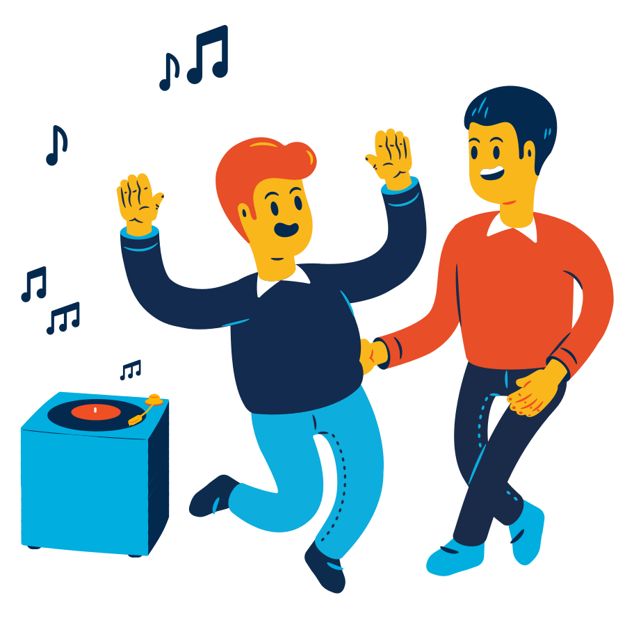 style Dancing couple Vector images in PNG and SVG | Icons8 Illustrations