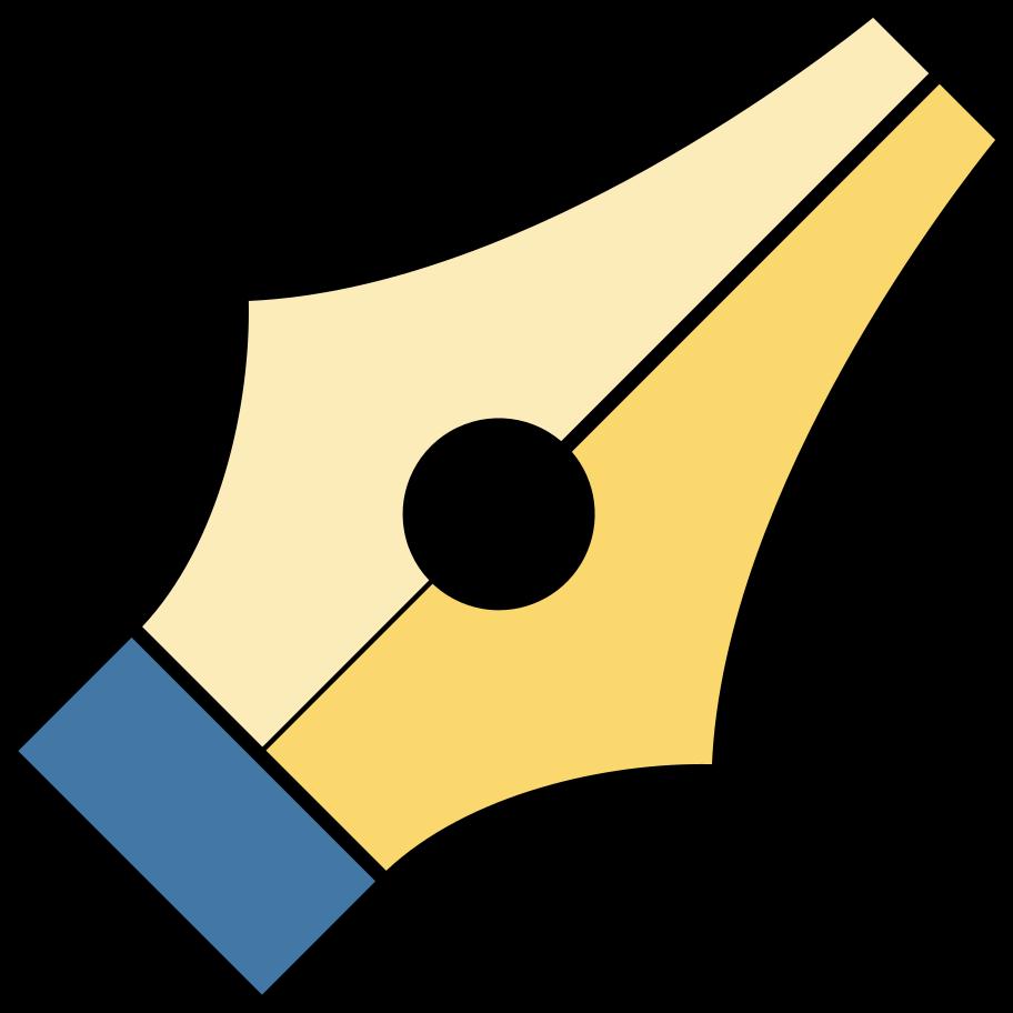 pen instrument Clipart illustration in PNG, SVG
