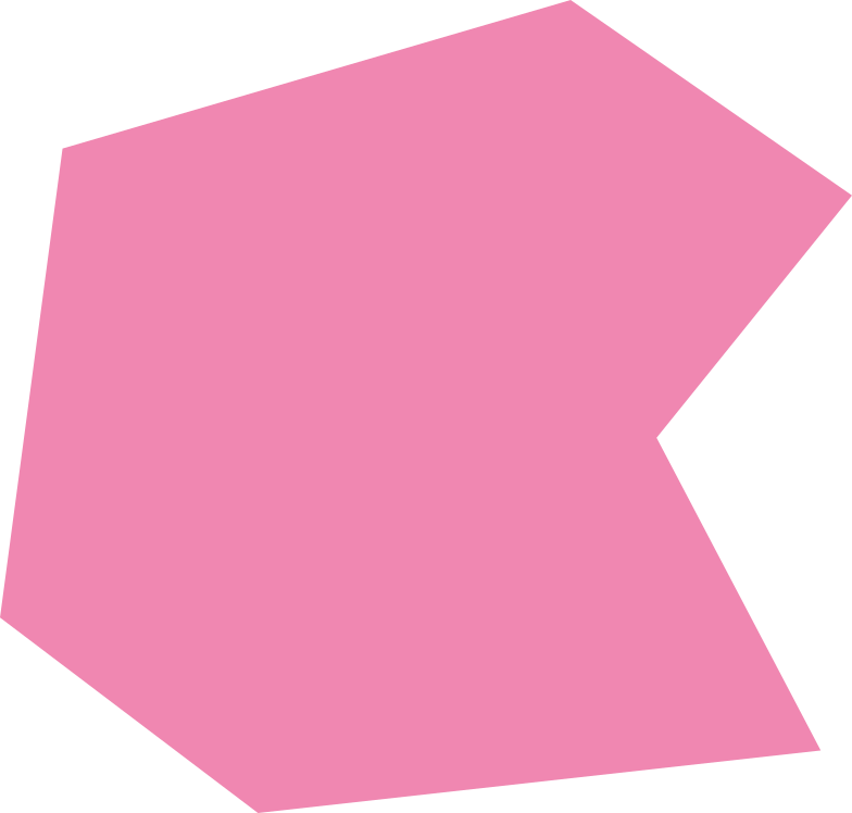 polygon pink Clipart illustration in PNG, SVG