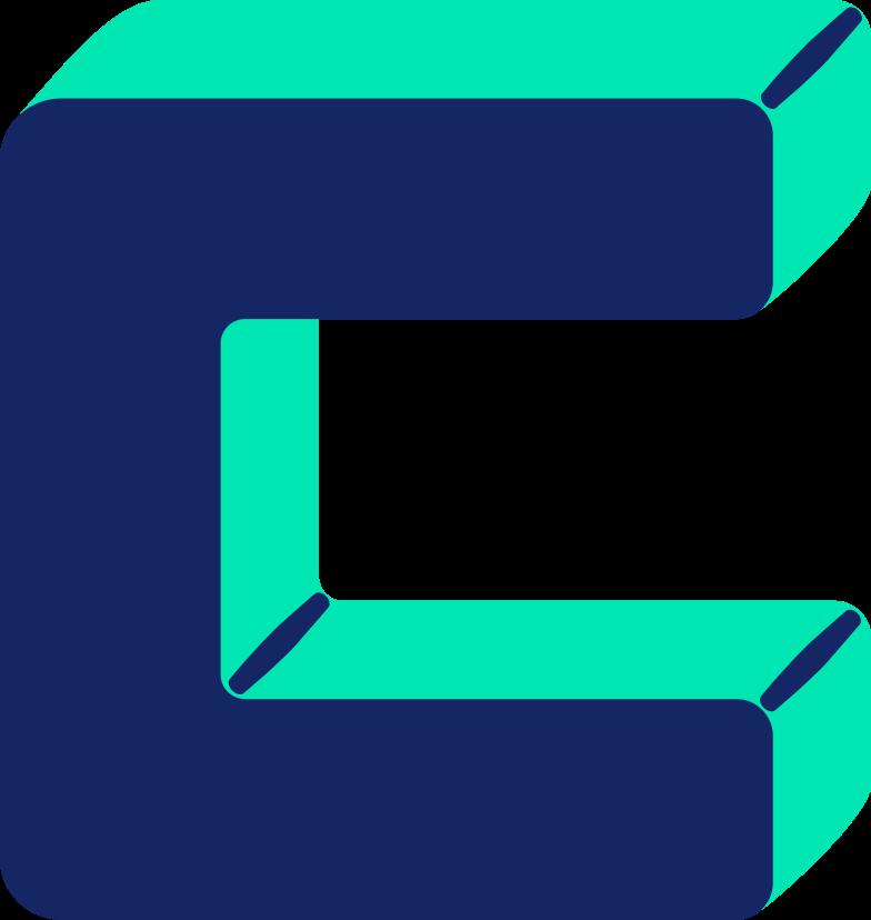 letter c Clipart illustration in PNG, SVG