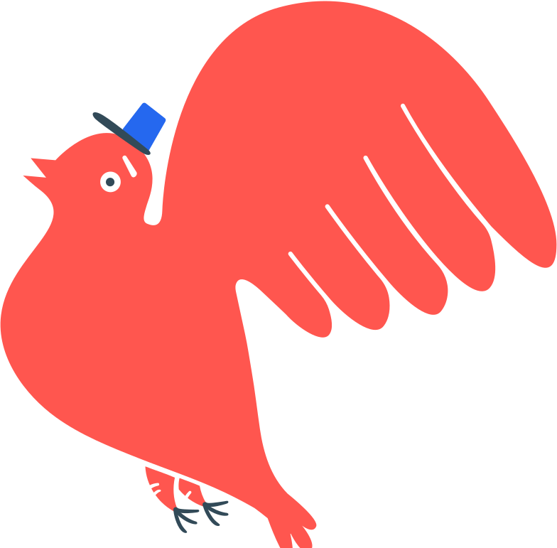 style bird postman Vector images in PNG and SVG | Icons8 Illustrations