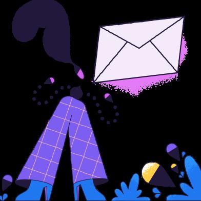 Иллюстрация Сообщение отправлено в стиле  в PNG и SVG | Icons8 Иллюстрации