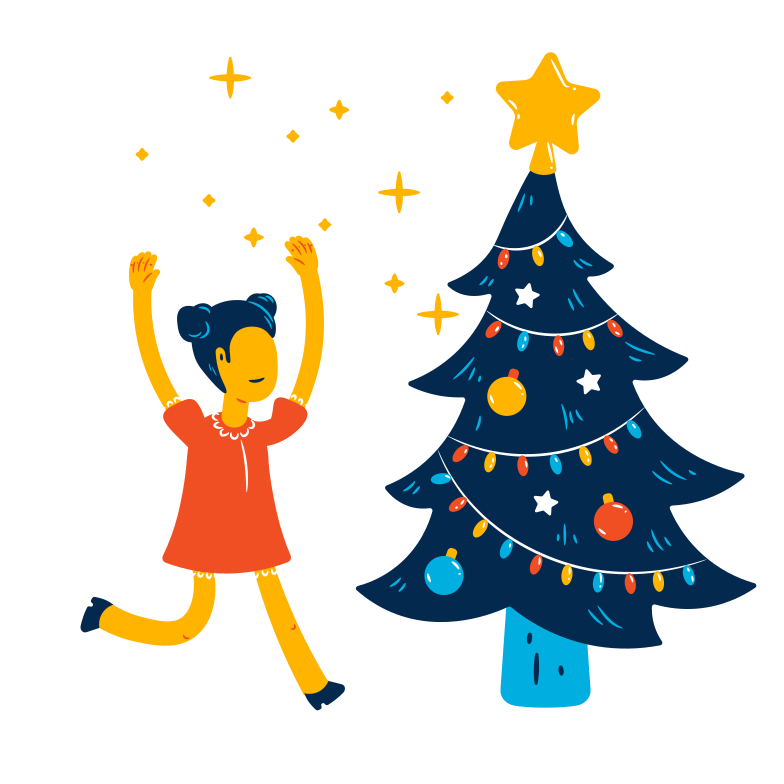 Árvore de natal Clipart illustration in PNG, SVG