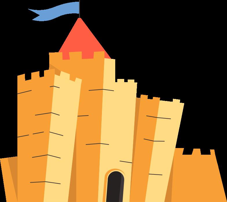 castle Clipart illustration in PNG, SVG