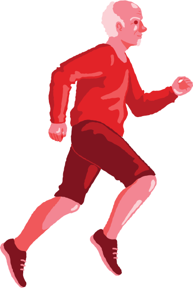 style old man running images in PNG and SVG | Icons8 Illustrations