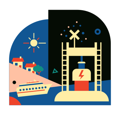 style Wave Energy Converter images in PNG and SVG | Icons8 Illustrations