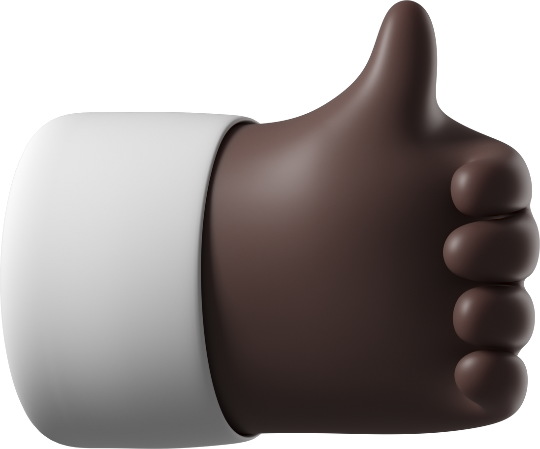 thumbs up Clipart illustration in PNG, SVG