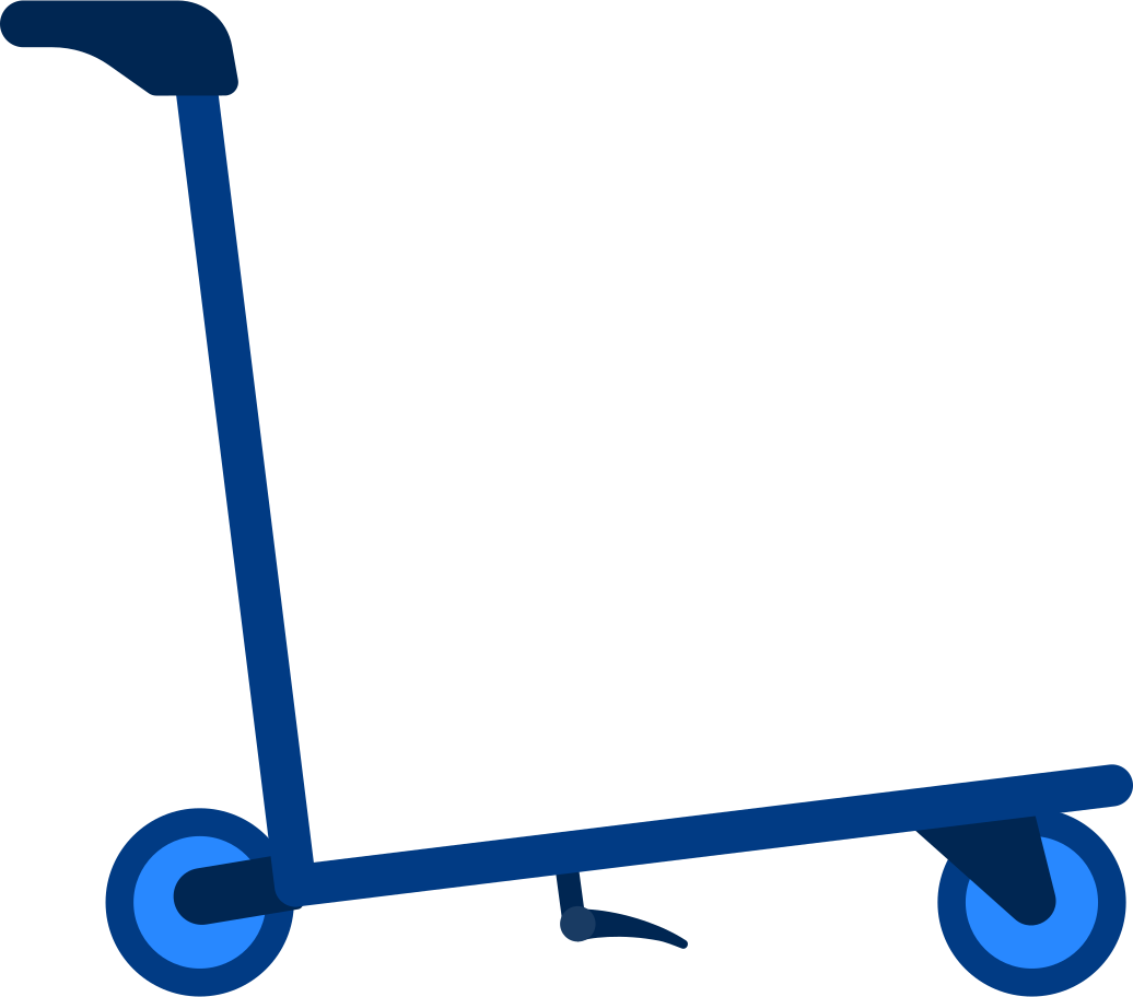 airport troley Clipart illustration in PNG, SVG