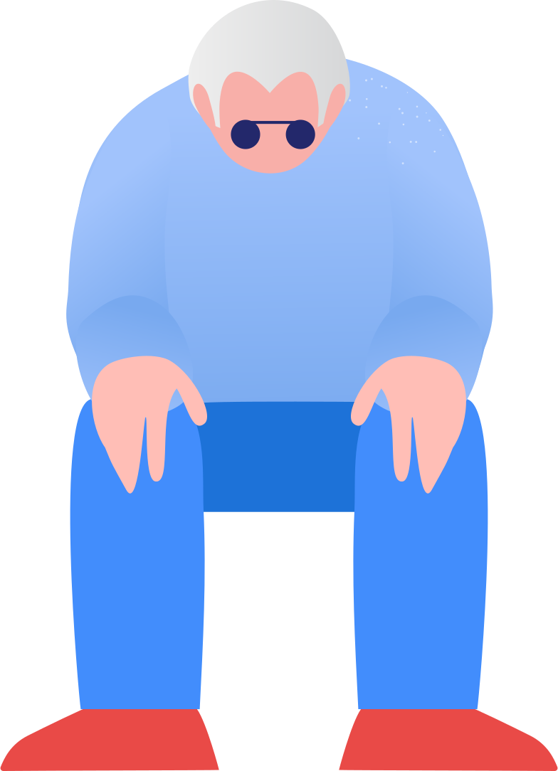 style grandpa sitting Vector images in PNG and SVG | Icons8 Illustrations