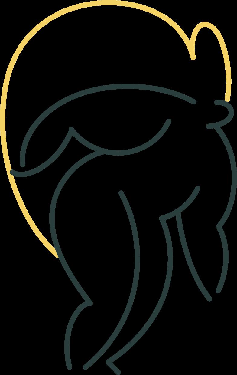 girl digging Clipart illustration in PNG, SVG
