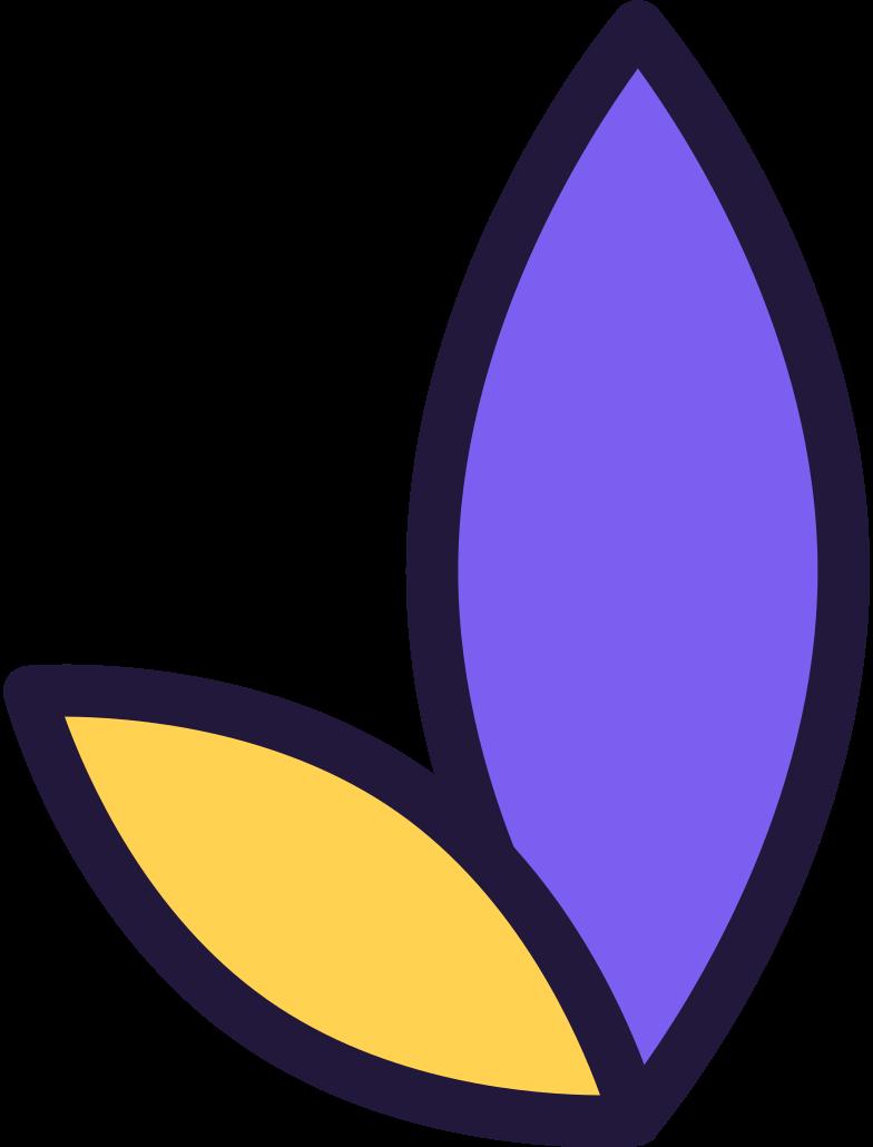log in  leaves Clipart illustration in PNG, SVG