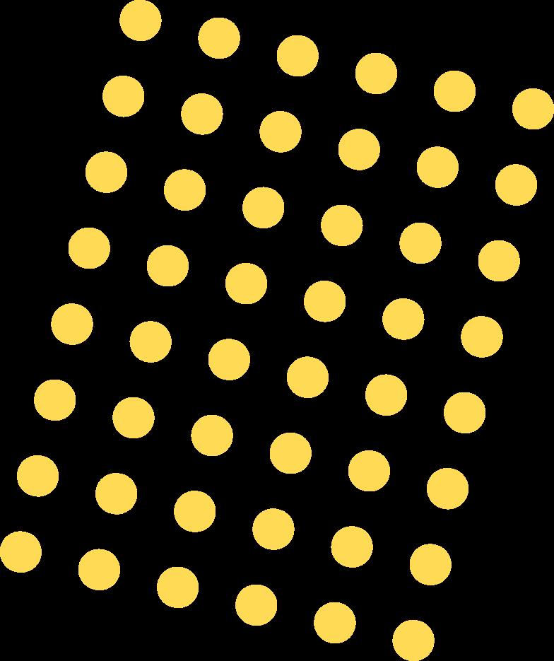 Иллюстрация желтые точки в стиле  в PNG и SVG | Icons8 Иллюстрации