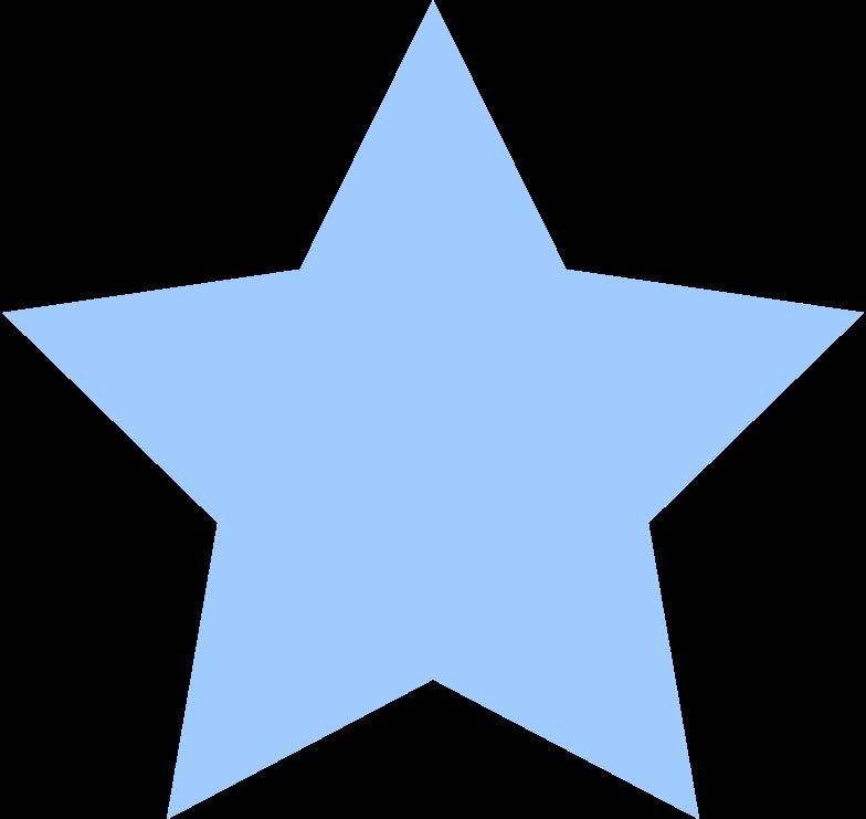 star-light-blue Clipart illustration in PNG, SVG