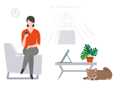 style Work from home images in PNG and SVG | Icons8 Illustrations