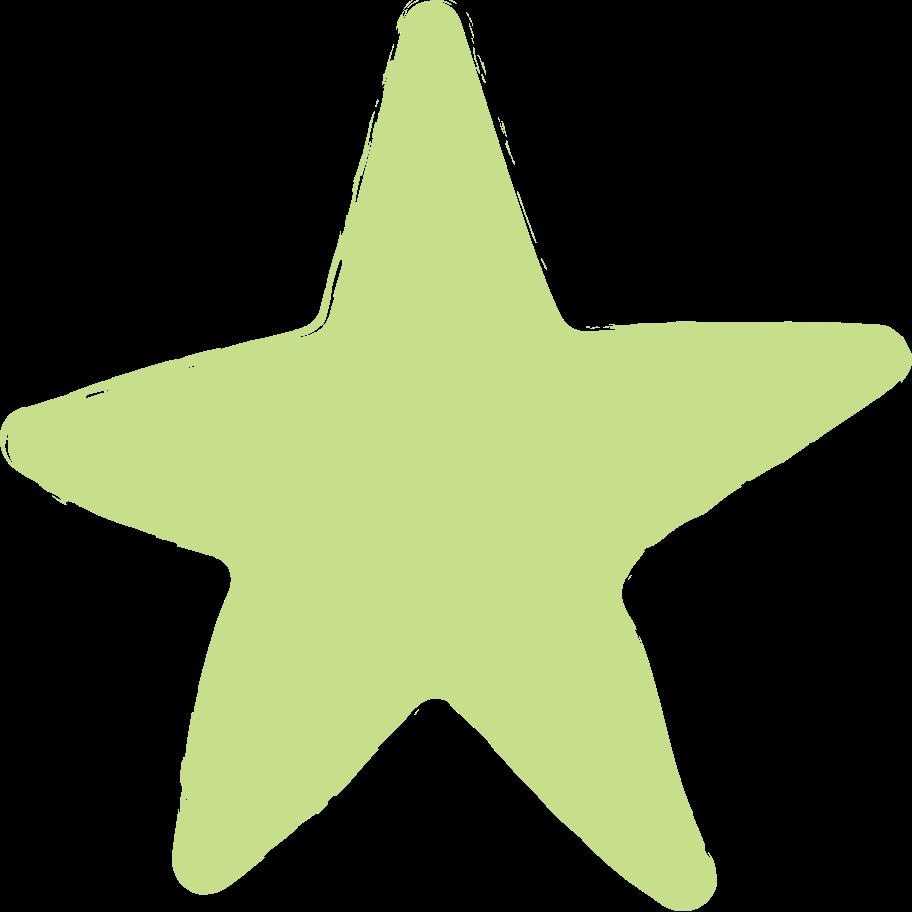 star-light-green Clipart illustration in PNG, SVG