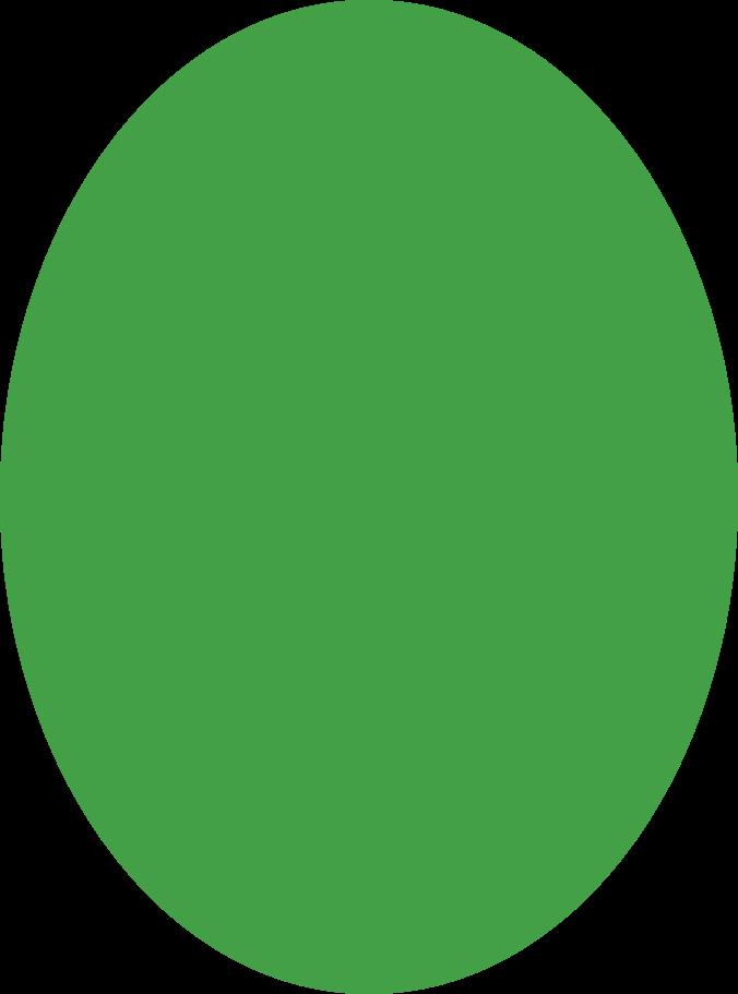ellipse green Clipart illustration in PNG, SVG