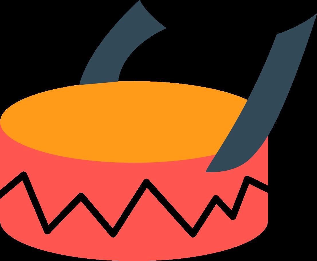 drum Clipart illustration in PNG, SVG