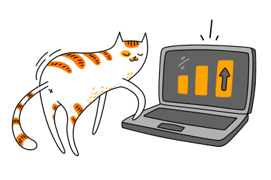 style Clever cat images in PNG and SVG | Icons8 Illustrations