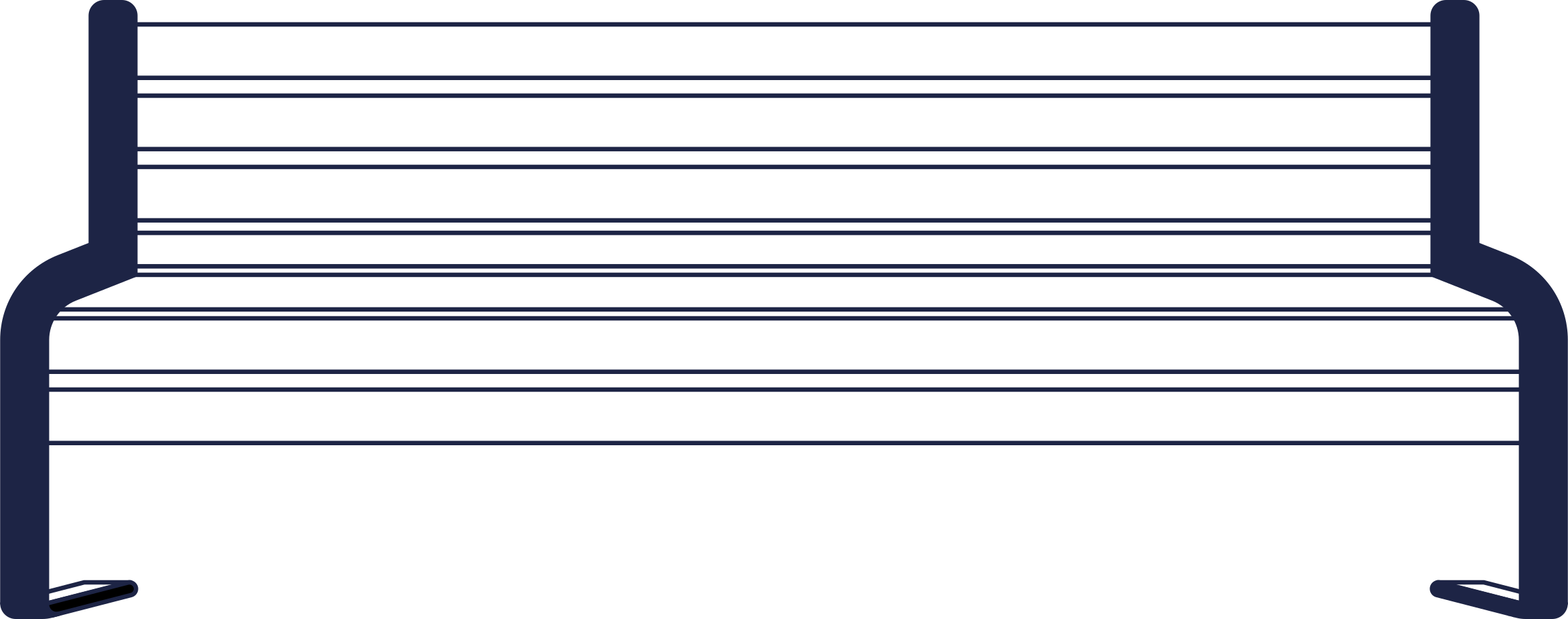 no connection  bench line Clipart illustration in PNG, SVG