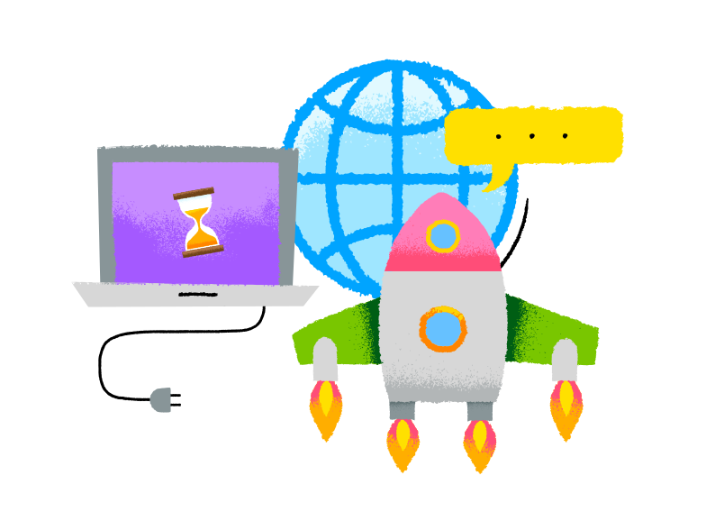 Start up launch Clipart illustration in PNG, SVG