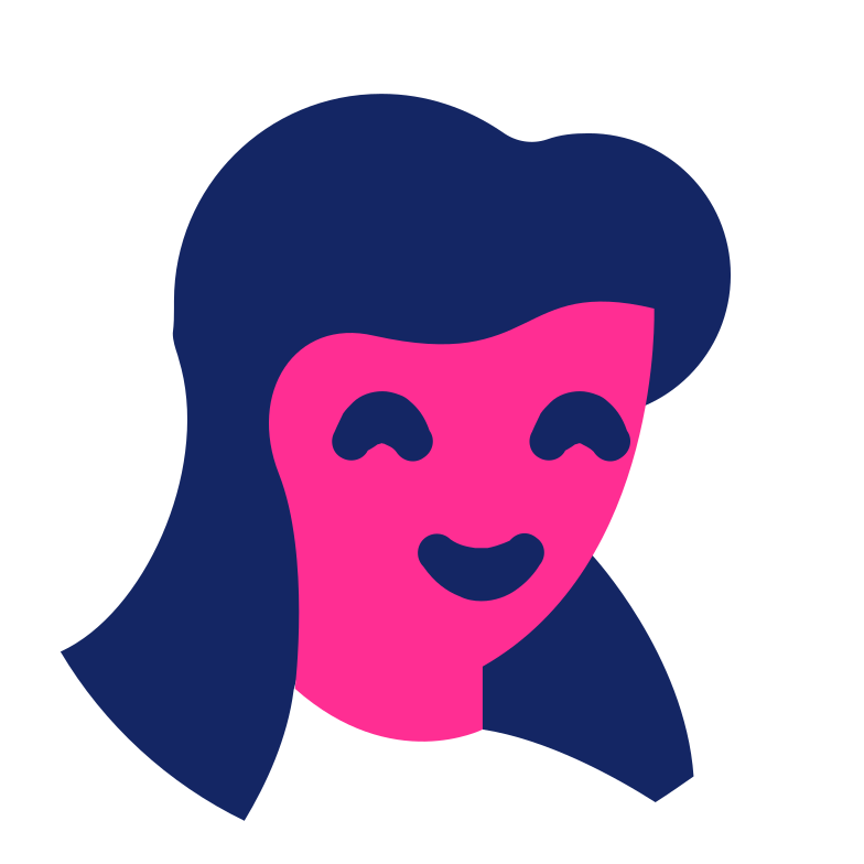 woman face Clipart illustration in PNG, SVG