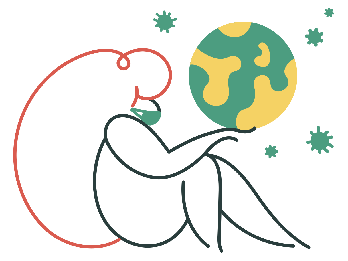 Pandemic Clipart illustration in PNG, SVG