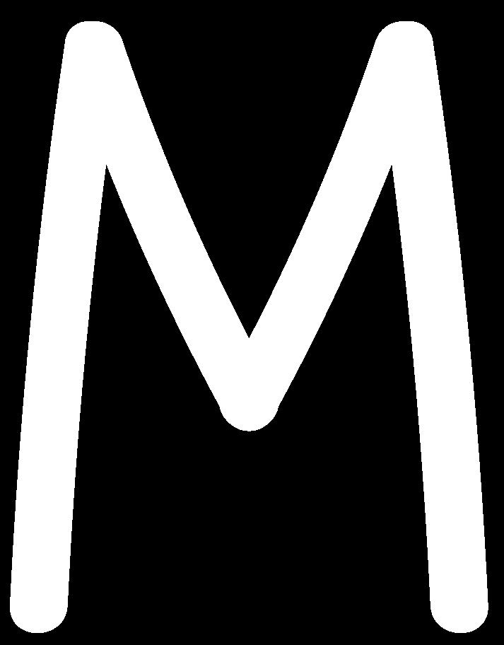 PNGとSVGの  スタイルの m白 ベクターイメージ | Icons8 イラスト