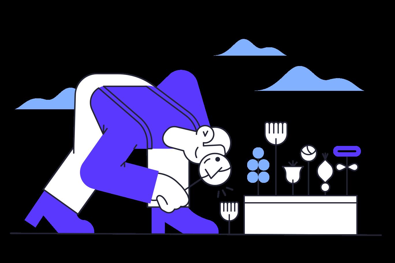 Gardener Clipart illustration in PNG, SVG