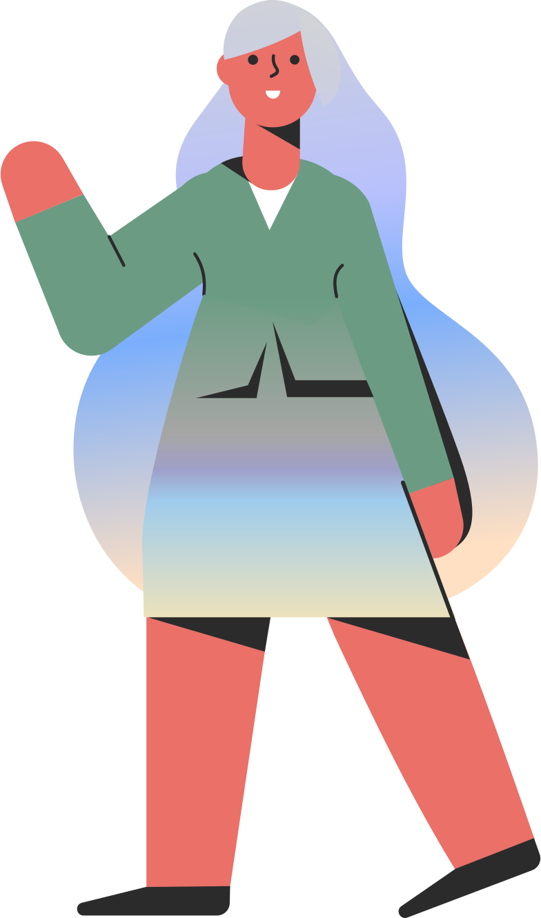woman in a suit Clipart illustration in PNG, SVG