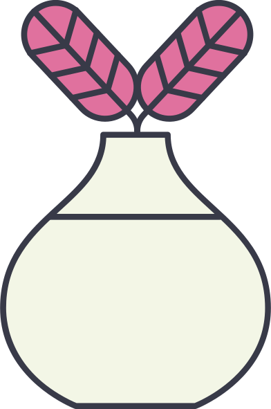 style vase with flowers images in PNG and SVG   Icons8 Illustrations