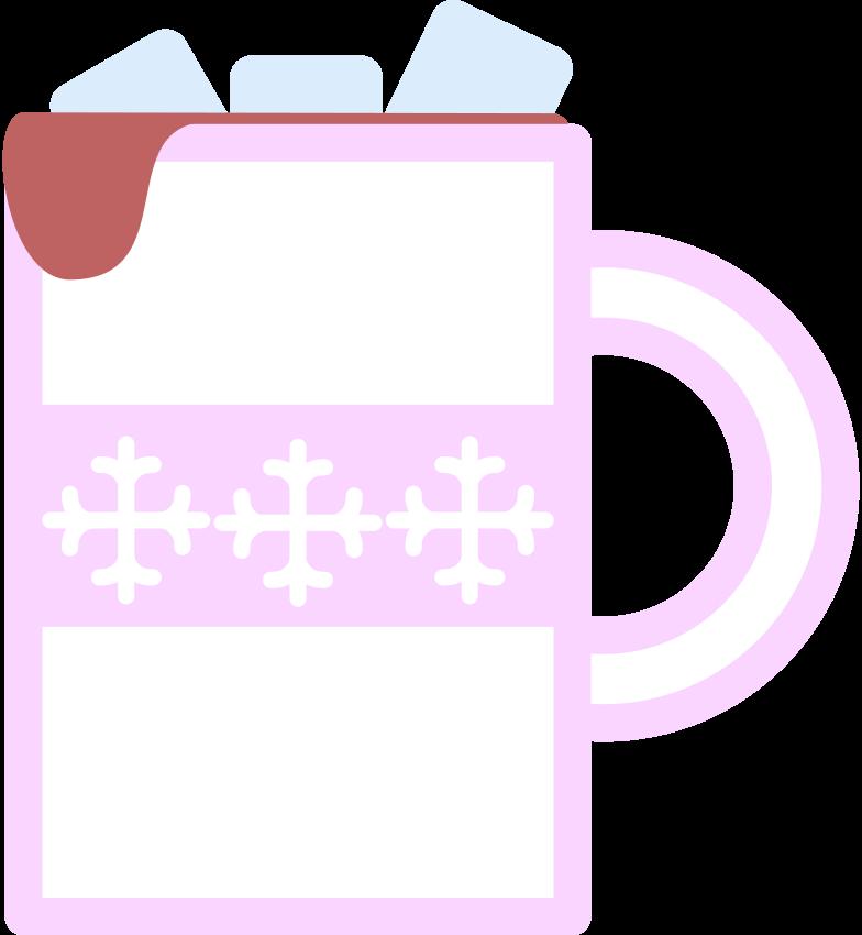 mug of cacao Clipart illustration in PNG, SVG