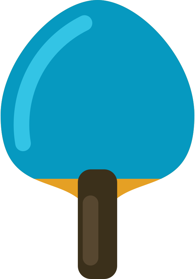 style ping pong paddle Vector images in PNG and SVG   Icons8 Illustrations