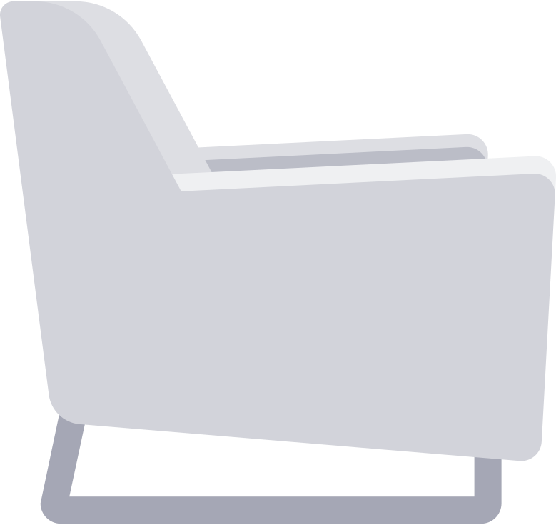 payment processed  armchair Clipart illustration in PNG, SVG