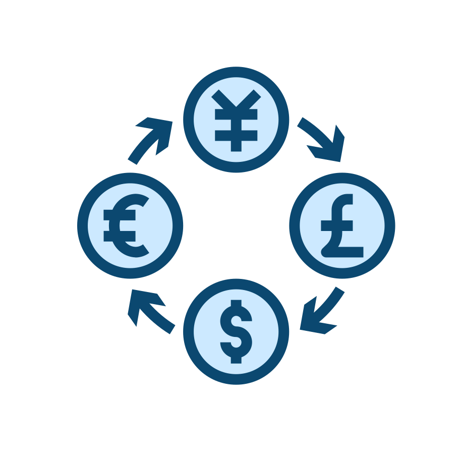style Currency exchange Vector images in PNG and SVG | Icons8 Illustrations